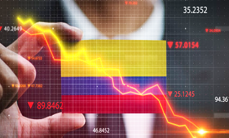 Cae producción industrial y ventas minoristas de Colombia