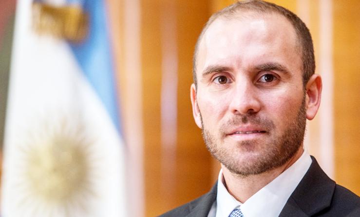 Los bonos y acciones argentinas al alza-ministro de economía de Argentina Martin Guzmán