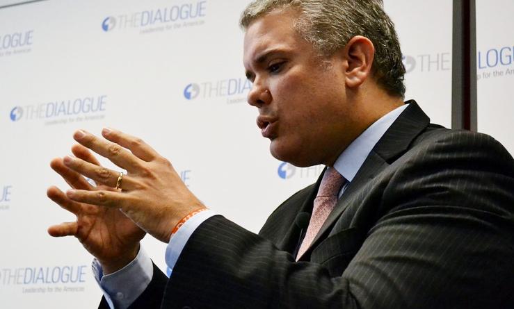 El presidente Iván Duque afirma que Colombia evalúa la venta de algunos activos no estratégicos