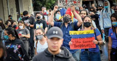 Las protestas ralentizan la economía colombiana